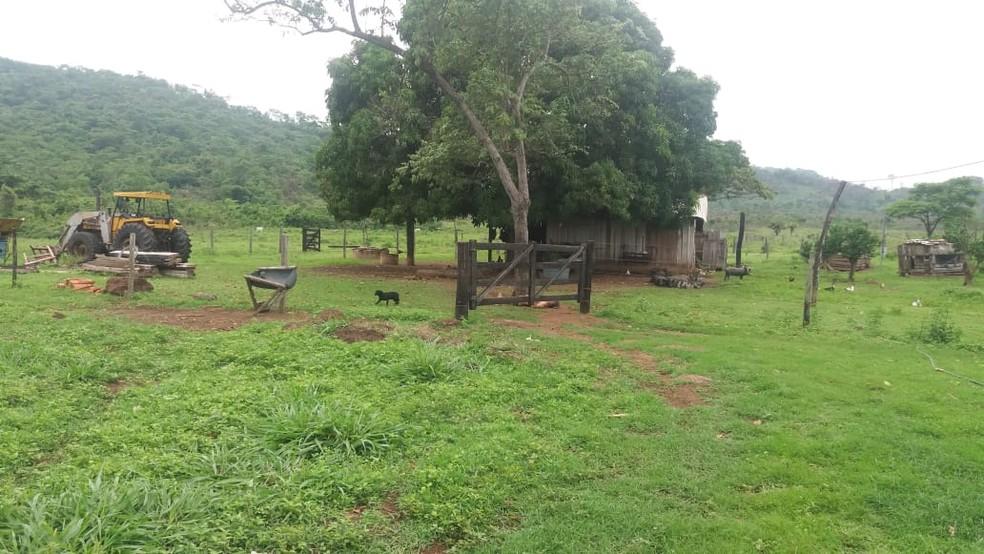 Produto rural é assassinado com tiros na cabeça em fazenda em Vila Rica (MT) — Foto: Agência da Notícia
