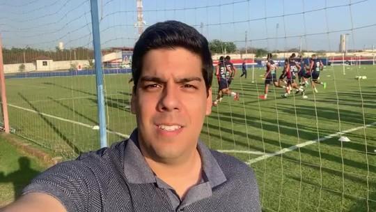 Fortaleza treina sem Felipe Alves, WP e Felipe Pires