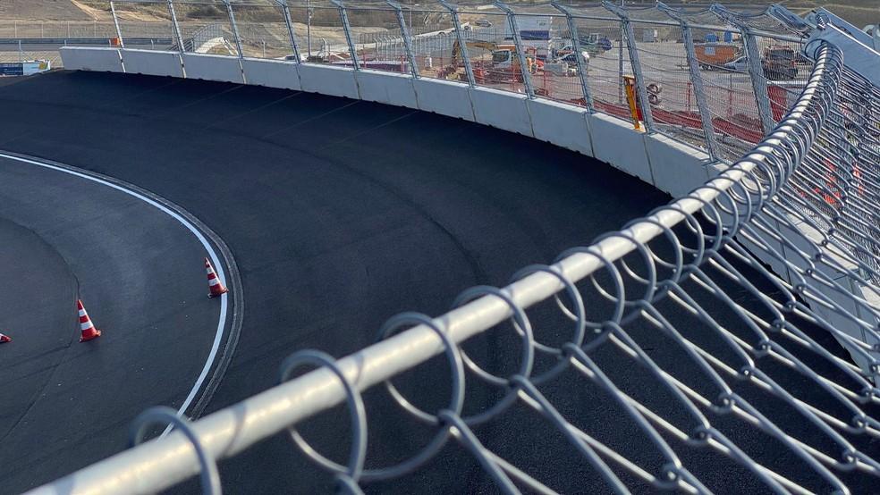 Curvas 3 e 14 do Circuito de Zandvoort, na Holanda — Foto: Formula1.com