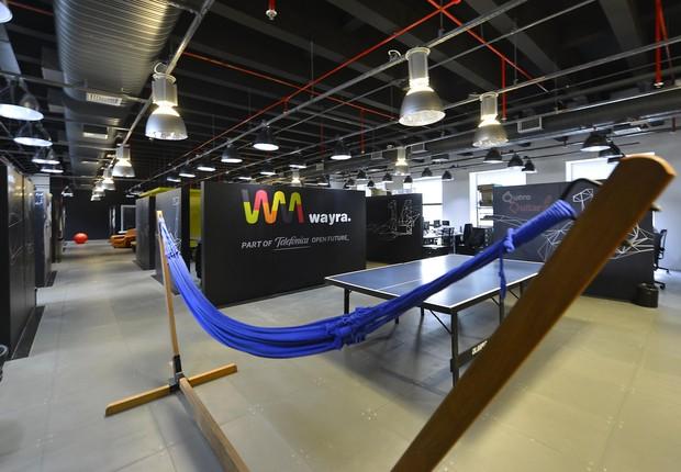 Wayra, espaço de inovação da Telefonica (Foto: Divulgação)
