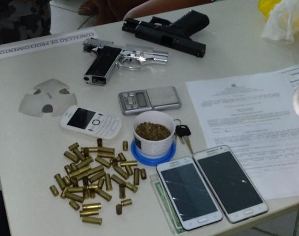 Suspeito de assaltar agência dos Correios em Brejo do Cruz, PB, é preso em Pernambuco — Foto: Polícia Federal/Divulgação