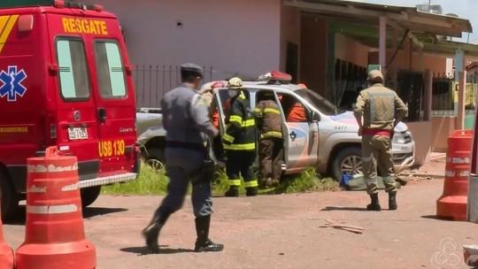 Suspeito em fuga que terminou em acidente de viatura foi preso