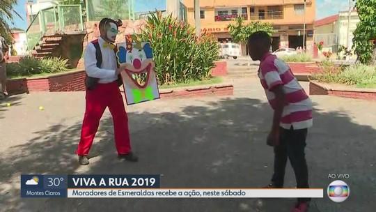'Viva a Rua' é realizado neste sábado em Esmeraldas, na Grande BH