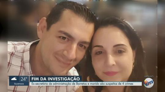 Polícia Civil indicia casal por desvio de dinheiro na Prefeitura de Barretos, SP