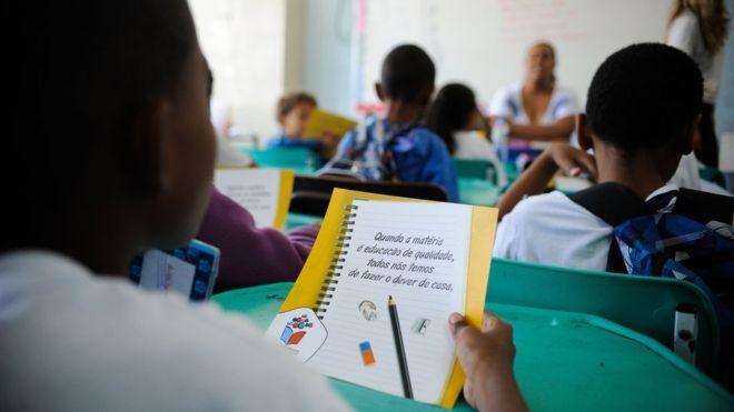 Estímulos para conclusão da prova podem variar (Foto: Agência Brasil via BBC)