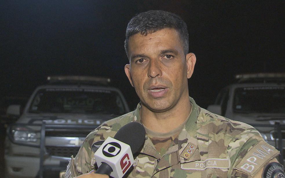 Major Souza Júnior, do Batalhão de Polícia Ambiental do Distrito Federal — Foto: TV Globo/Reprodução