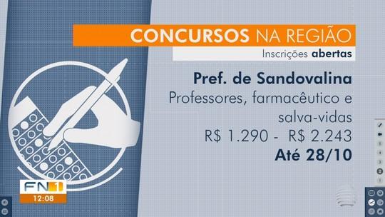 Confira as oportunidades em concursos na região de Presidente Prudente