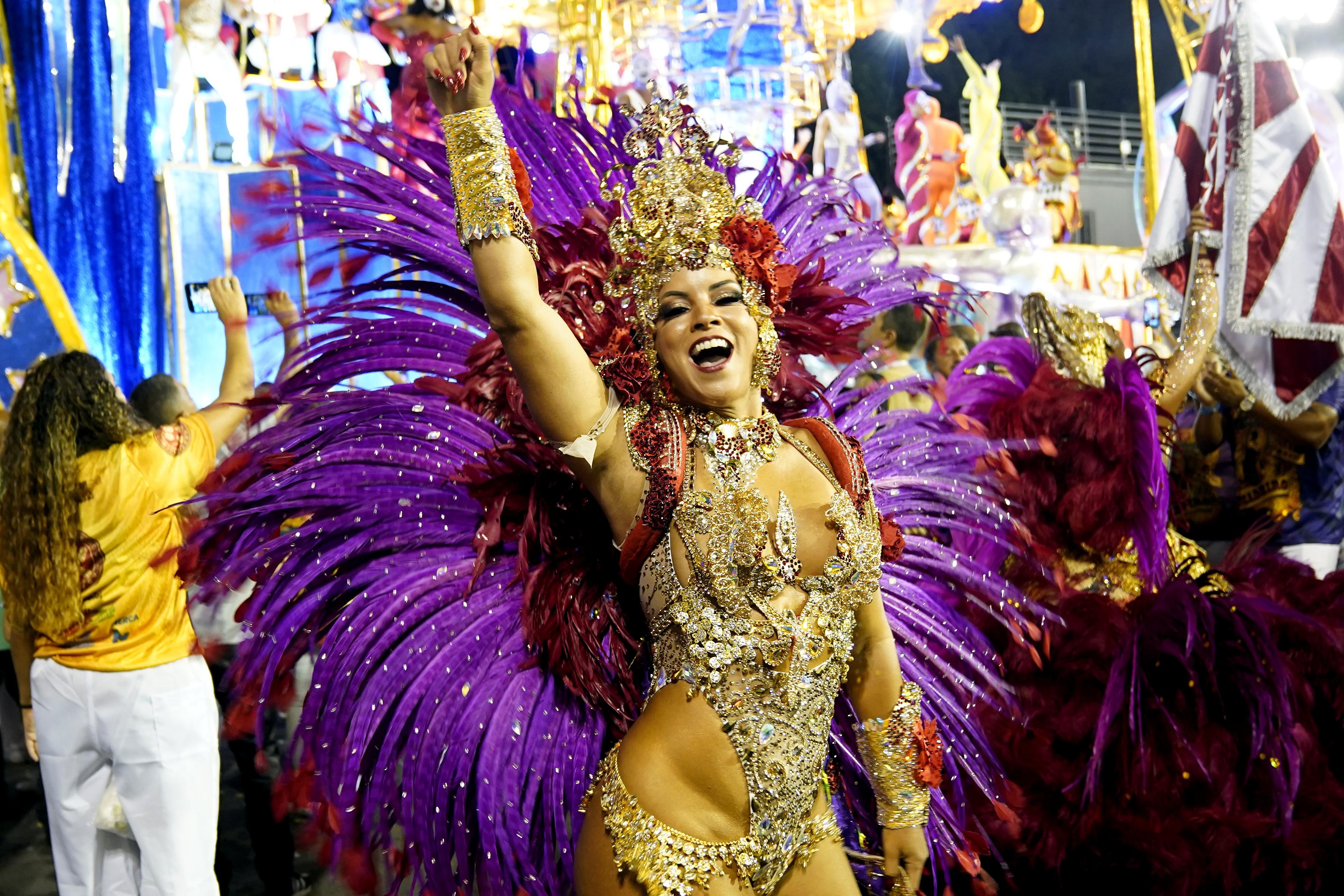 Desfile do Salgueiro; veja FOTOS