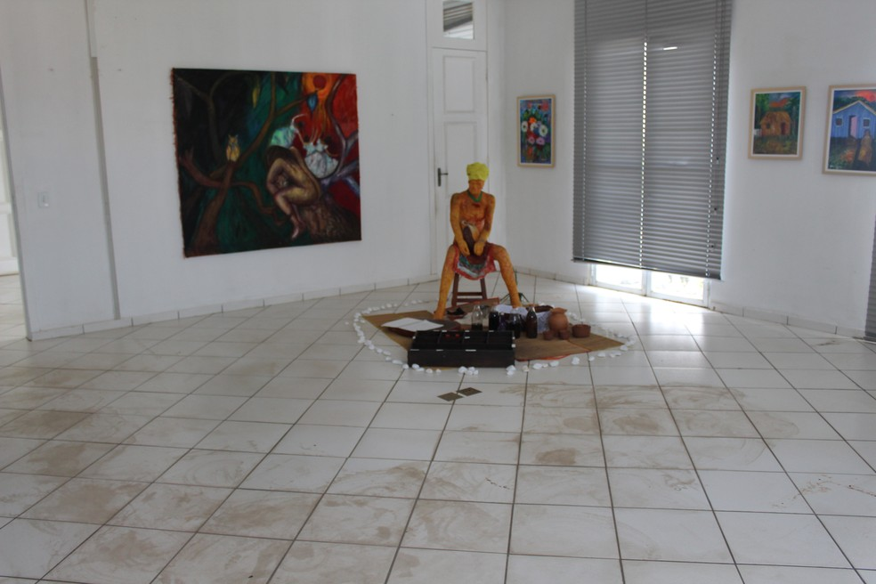 Museu apresenta problemas de manutenção  — Foto: Cássia Firmino/ G1