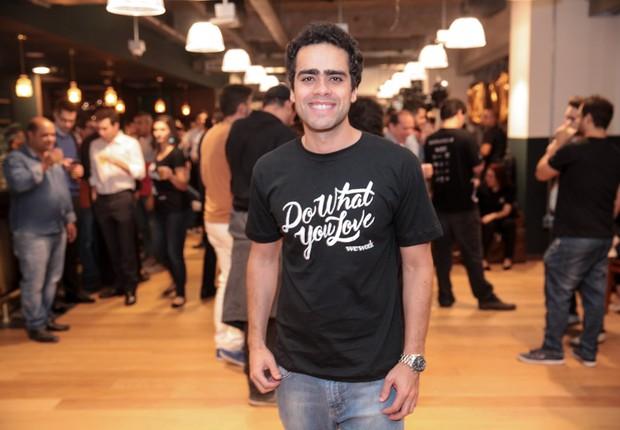 Lucas Mendes lidera as operações do WeWork no Brasil (Foto: Divulgação)