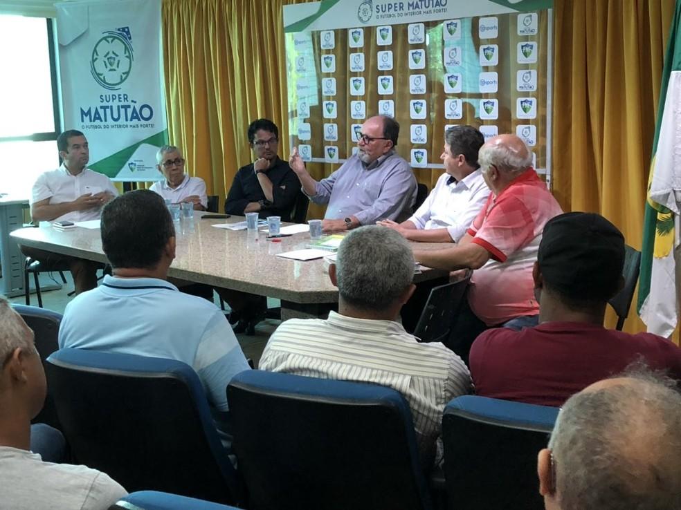 Super Matutão anuncia tabela e regulamento — Foto: Iuri Seabra/FNF