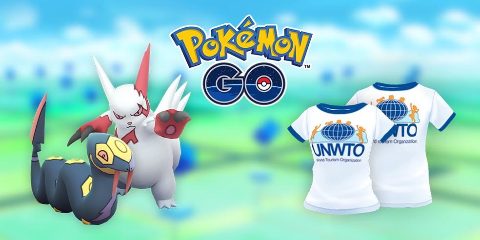 Pokémon GO com evento de turismo — Foto: Divulgação/Niantic