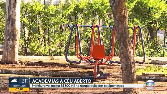 Mais de 300 academias a céu aberto em Belo Horizonte precisam de reparos