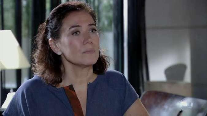 Lilia Cabral como Griselda em cena de 'Fina estampa' (Foto: Reprodução)