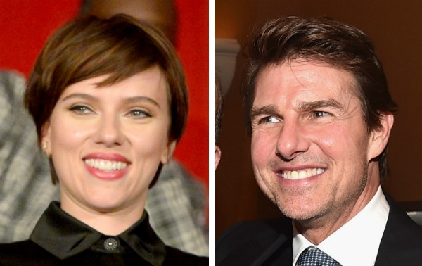 A atriz Scarlett Johansson e o ator Tom Cruise (Foto: Getty Images)