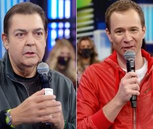 Faustão e Tiago Leifert | Globo