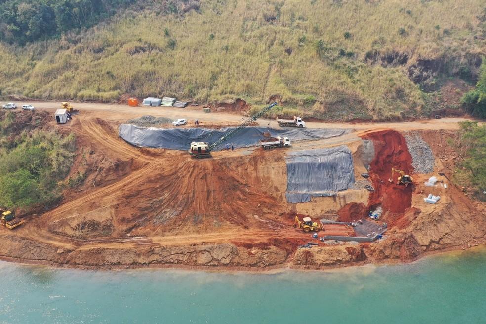 Segundo o Codefoz, a obra deve ficar pronta em 2022 — Foto: Diretoria de Coordenação da Itaipu Binacional/Divulgação