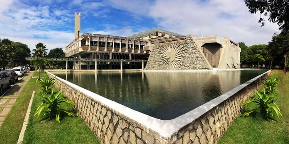 Reitoria Universidade Federal do Rio Grande do Norte (UFRN) — Foto: Cícero Oliveira