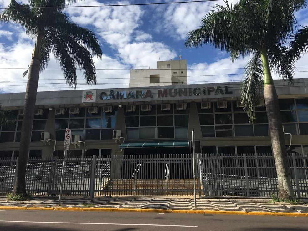Câmara Municipal de Presidente Prudente (Foto: Gabriel Tibaldo)