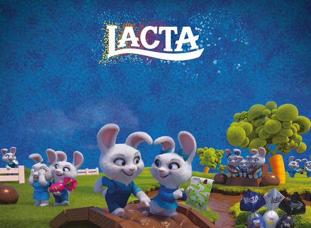 Evento organizado pela marca Lacta terá uma Caça aos Ovos  (Foto: Divulgação/ Lacta)