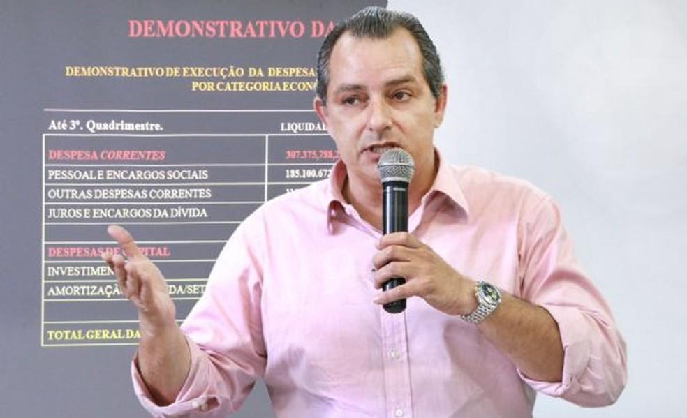 César Miranda Lima, secretário de Desenvolvimento Econômico — Foto: José Luiz Siqueira / Secom Várzea Grande