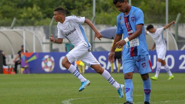 Diego Rosa marcou o gol gremista
