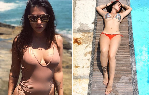 Antes e depois de Cleo Pires (Foto: Reprodução/Instagram)