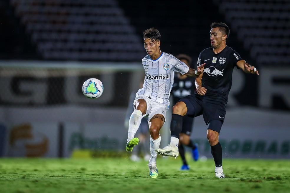 Ferreira em derrota do Grêmio — Foto: Lucas Uebel/Grêmio