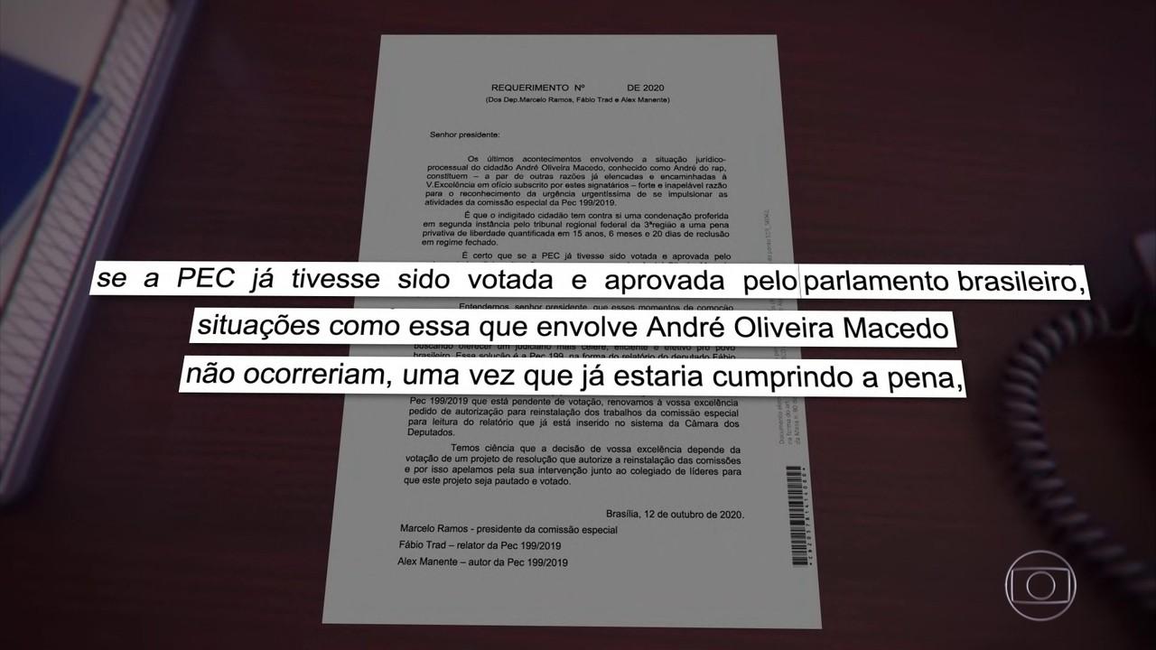Após caso de André do Rap, parlamentares reforçam aprovação de condenação em 2ª instância