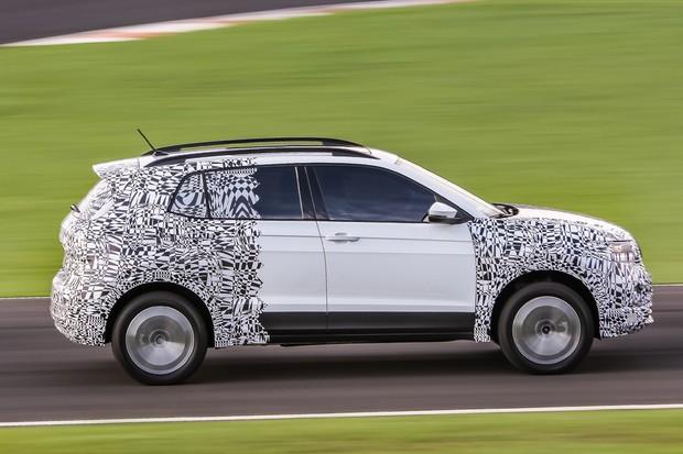 Volkswagen T-Cross nacional em testes finais (Foto: Divulgação)
