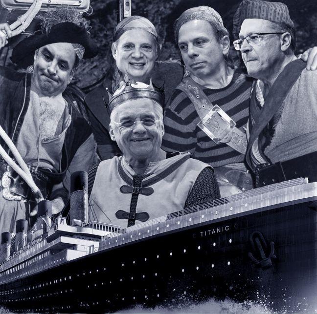 Piratas no Titanic (Foto: Antonio Lucena)