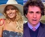 Carolina Dieckmann e Guga Chacra | Reprodução/Instagram - TV Globo