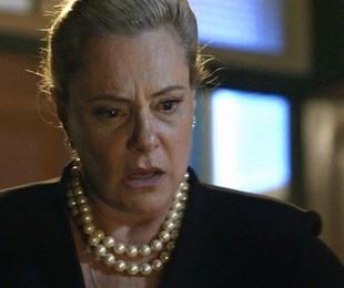 Elizabeth Savala intepreta Mirtes   TV Globo