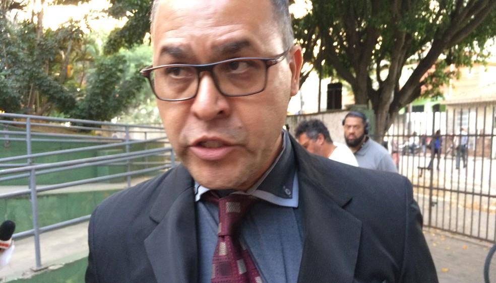 Luciano Rodrigues é advogado de Ronildo Araújo (Foto: Glauco Araújo/G1)