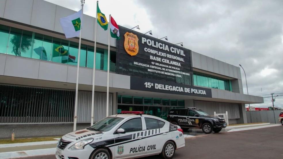 Fachada da Delegacia de Atendimento Especial à Mulher (DEAM II), em imagem de arquivo — Foto: SSP-DF/Divulgação