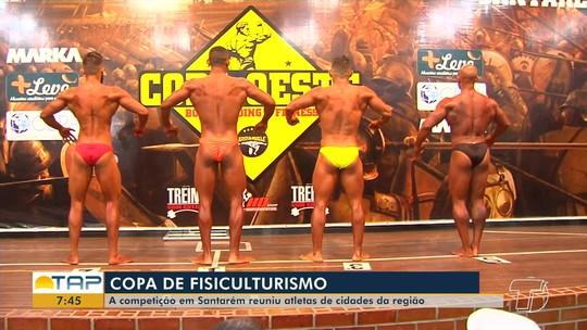 Confira os vencedores da 6ª edição da Copa Oeste de fisiculturismo realizada no fim de semana em Santarém