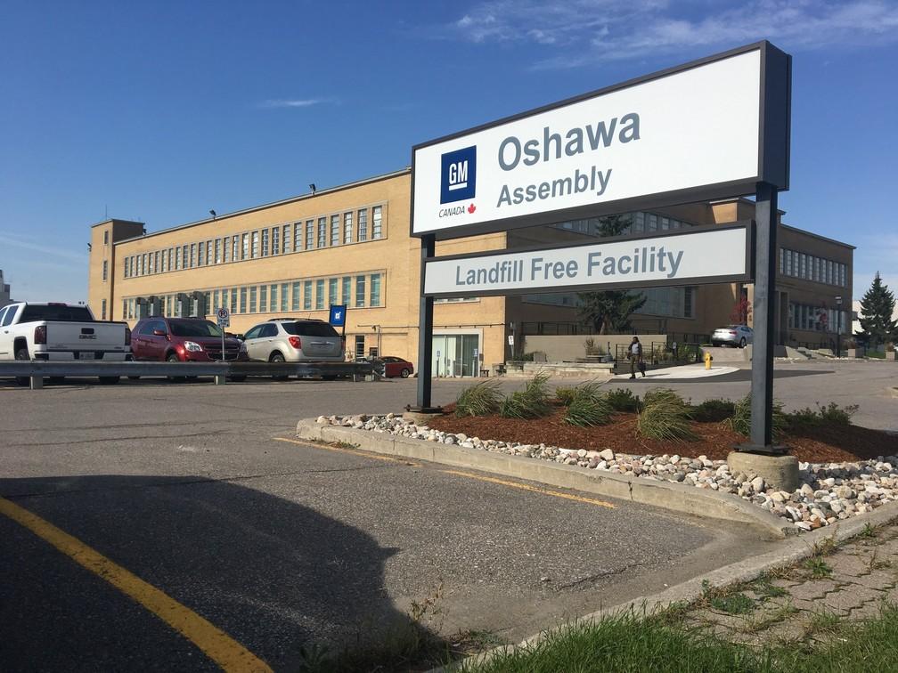 Fábrica da GM em Oshawa, no Canadá — Foto: Divulgação