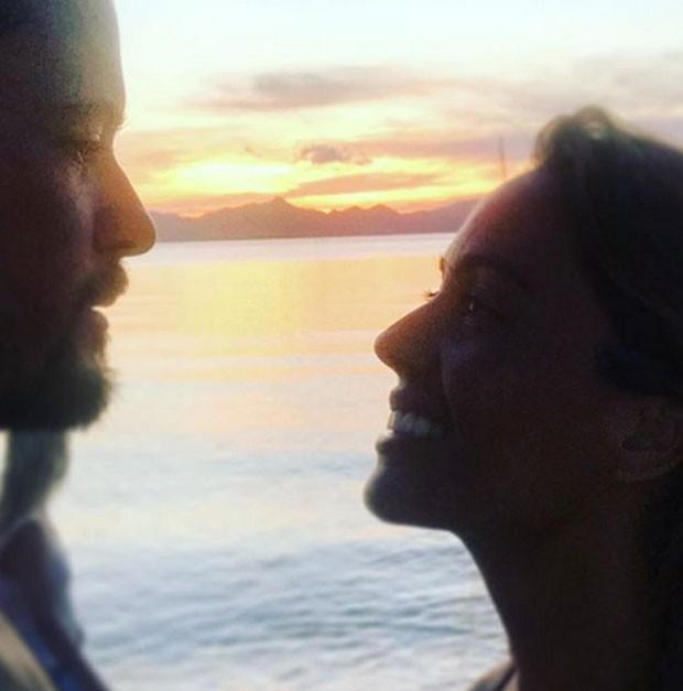 Paulo Vilhena e namorada (Foto: Reprodução Instagram)