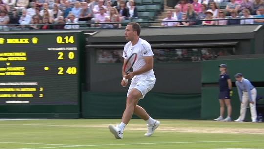 Finais de Wimbledon e Copa no mesmo dia criam dilema para Bruno Soares e ingleses