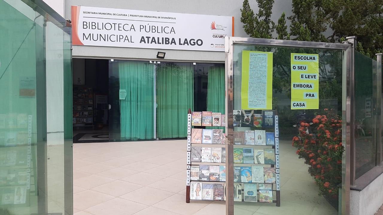Projeto 'Livre, Leve e Solto' é retomado na Biblioteca Pública Municipal em Divinópolis