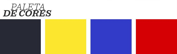 Décor do dia: Sala de estar colorida com sofá amarelo (Foto: Reprodução)