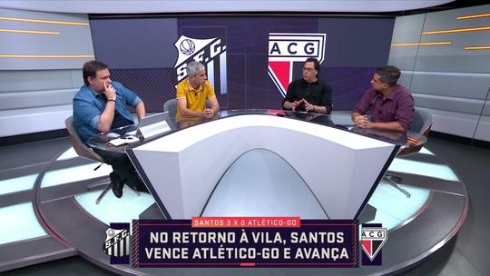 No retorno à Vila, Santos vence o Atlético-GO e avança