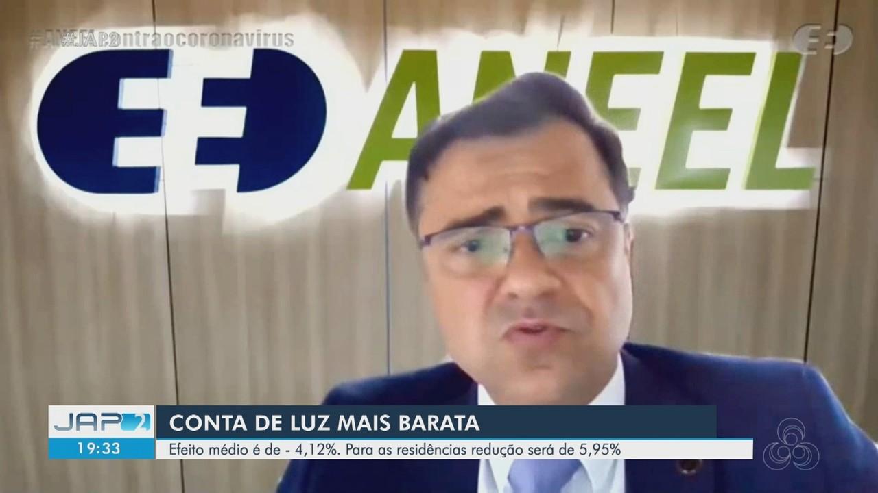 Aneel aprova redução média de 4,12% nas tarifas de energia do Amapá.
