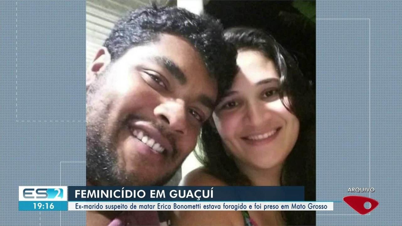 Homem suspeito de feminicídio em Guaçuí, ES, é preso em Mato Grosso