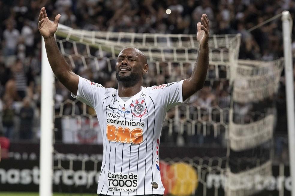 Vagner Love disputou 121 partidas e fez 29 gols pelo Corinthians — Foto: Daniel Augusto Jr/Ag. Corinthians