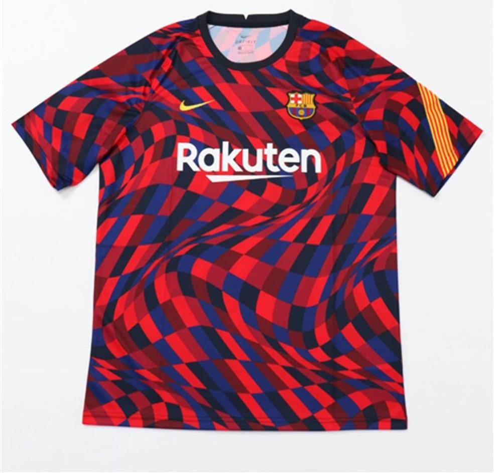 Nova Camisa Pre Jogo Do Barcelona E Inspirada Em Mosaicos De Antoni Gaudi Brasil Mundial Fc Ge