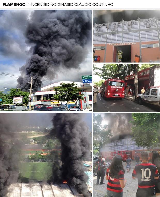 Resultado de imagem para incendio flamengo