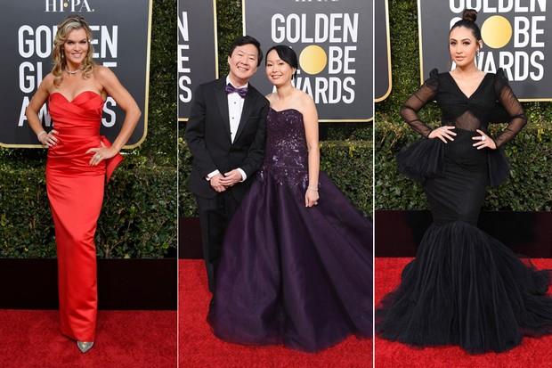 Missi Pile, Ken Jeong e Tran Jeong e Francia Raisa (Foto: Getty Images)