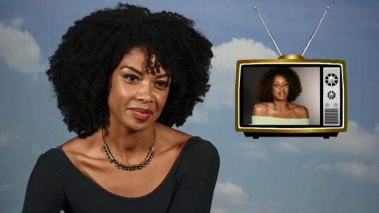 Heloísa Jorge dá dica sobre atuação ao rever primeiro teste: 'Televisão é se sentir à vontade'