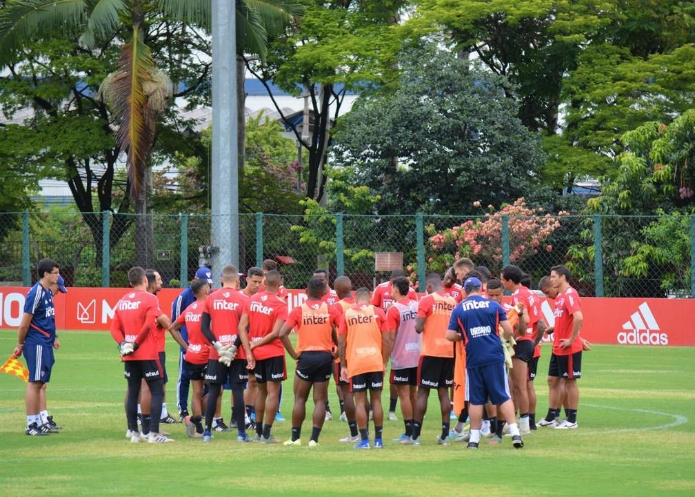 São Paulo atrasou pagamento dos salários (CLT) de janeiro aos jogadores — Foto: São Paulo FC / divulgação